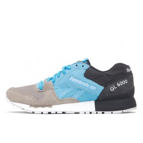 Reebok GL 6000 SNE Blue Splash Beach Stone мужские кроссовки