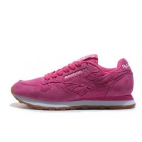 Reebok Classic Suede Pink женские кроссовки