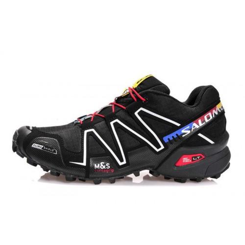 Salomon Speedcross 3 Black мужские кроссовки