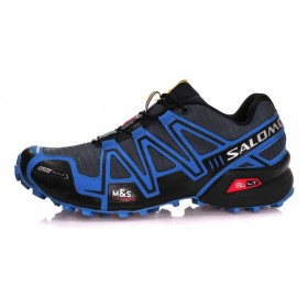 Salomon Speedcross 3 Black Blue мужские кроссовки