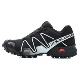 Salomon Speedcross 3 Black Grey мужские кроссовки