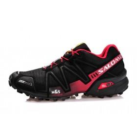 Salomon Speedcross 3 Black Red мужские кроссовки