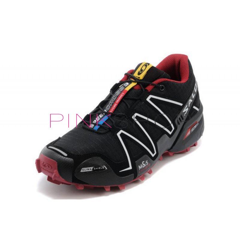 Кроссовки Salomon Speedcross 3 Black White купить мужские кроссовки ... ccf790a75593a