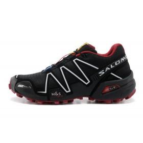 Salomon Speedcross 3 Black White мужские кроссовки