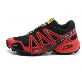 Salomon Speedcross 3 Red Black мужские кроссовки
