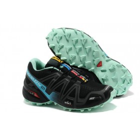 Женские кроссовки Salomon Speedcross 3 Black