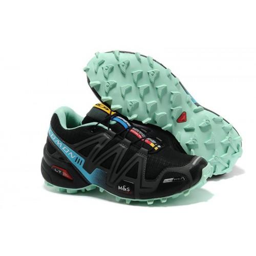 Женские кроссовки Salomon Speedcross 3 (Саломон СпидКросс 3) Black
