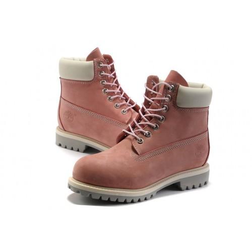 Timberland Classic 6 inch Pink Boots женские Тимберленды