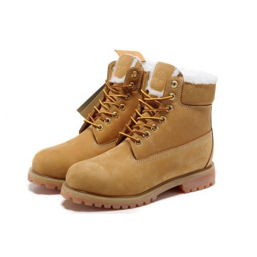 Timberland Classic 6 inch Yellow Boots Winter Edition мужские Тимберленды