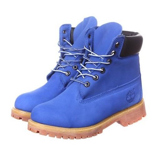 Timberland 6 inch Boots Blue женские ботинки