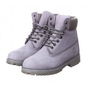 Timberland 6 inch Boots Light Grey 2