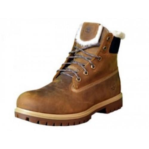 Timberland 6 inch Brown Winter мужские ботинки