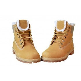 Timberland 6 inch Yellow Winter China Edition женские ботинки