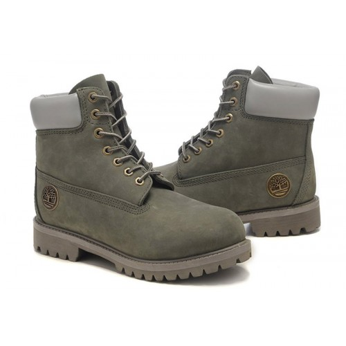 Timberland Classic 6 inch Khaki Grey Boots мужские Тимберленды
