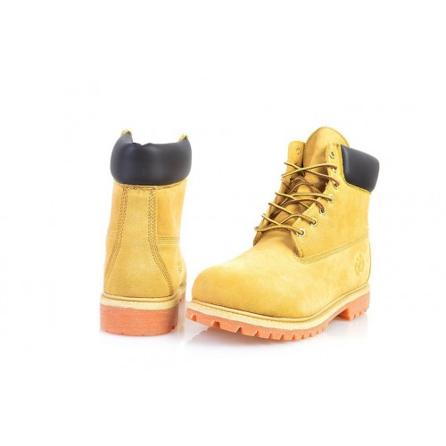 Timberland Classic 6 inch Yellow Boots Winter Fur мужские Тимберленды