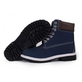 Timberland Classic 6 inch Brown Blue Boots мужские Тимберленды
