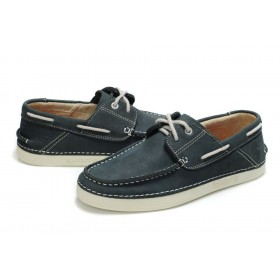 Мокасины Timberland Classic Boat Dark Blue Shoes