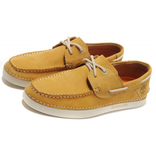 Мокасины Timberland Classic Boat Yellow Shoes мужские