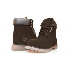 Timberland Classic 6 inch Brown Boots Winter Fur мужские Тимберленды