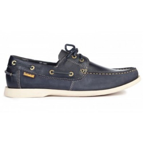 Timberland Kia Wah Bay 2-Eye Boat Blue мужские мокасины