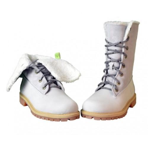 Timberland Teddy Fleece China Grey женские ботинки