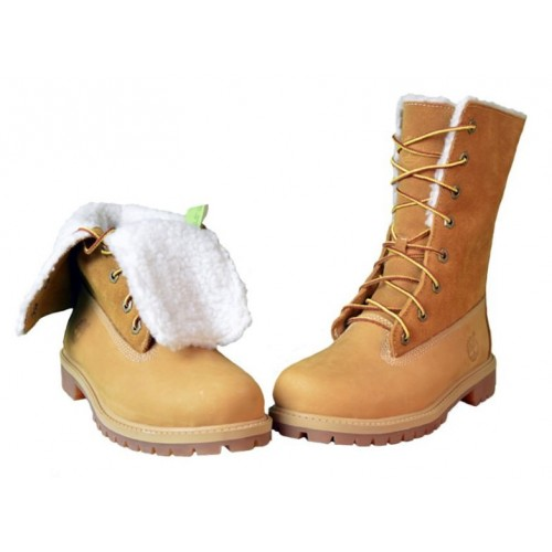 Timberland Teddy Fleece China Yellow женские ботинки