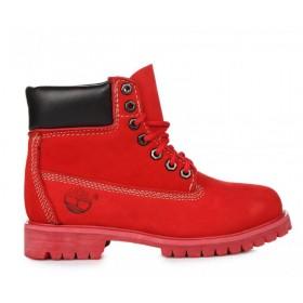 Timberland 6 inch Ruby Red женские ботинки