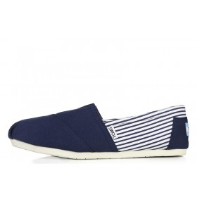 Toms Classics Stripes Blue женские эспадрильи