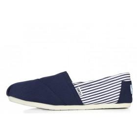 Toms Classics Stripes Blue мужские эспадрильи
