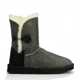UGG Australia Bailey Button Bomber Grey женские угги