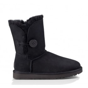UGG Australia Bailey Button Black женские Угги