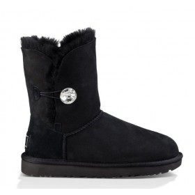 UGG Australia Bailey Button Bling Black женские угги