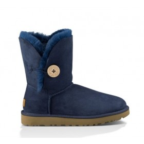 UGG Australia Bailey Button Blue женские Угги