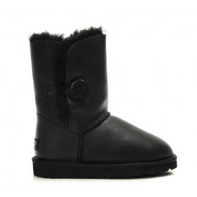 UGG Australia Bailey Button Bomber Black женские Угги