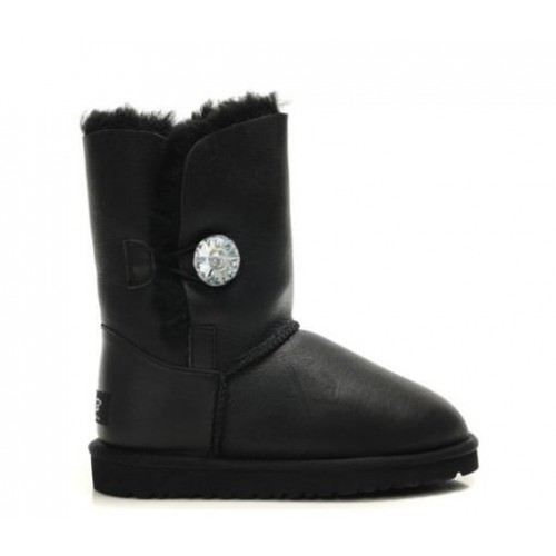 UGG Australia Bailey Button Bomber Jewel Black женские угги