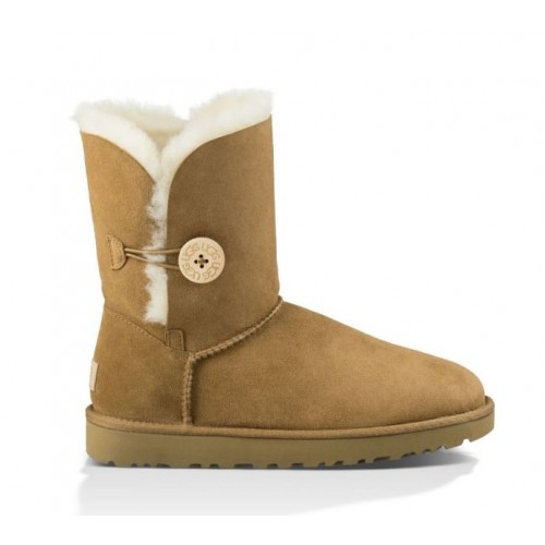 UGG Australia Bailey Button Chestnut женские Угги