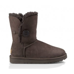 UGG Australia Bailey Button Chocolate женские Угги