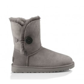 UGG Australia Bailey Button Grey женские Угги