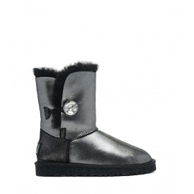 UGG Bailey Button I DO! Black женские угги