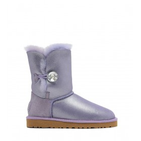 UGG Bailey Button I DO! Purple женские угги
