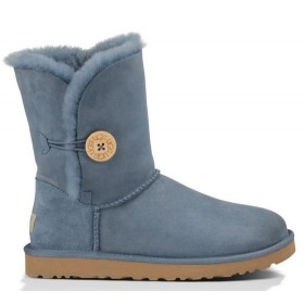 UGG Australia Bailey Button Light Blue женские угги