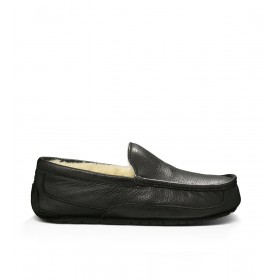 Мокасины UGG Australia Ascot Slipper Leather Black