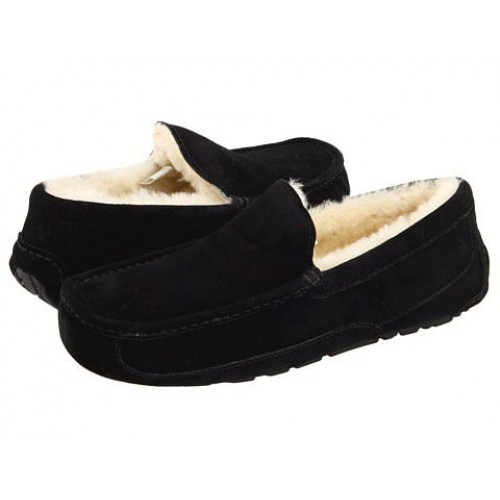 Мокасины UGG Australia Ascot Slipper Black
