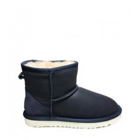Женские угги UGG Australia Classic Mini Leather Navy W