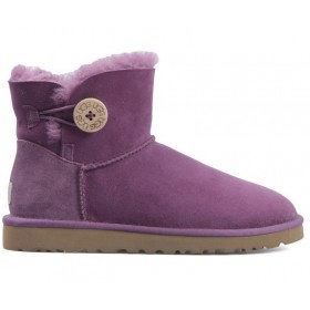 UGG Australia Bailey Button Mini Lavender женские угги