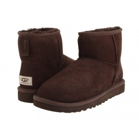 UGG Australia Classic Mini Chocolate женские угги