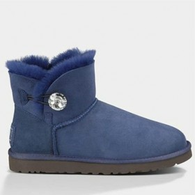 UGG Australia Bailey Button Mini Bling Blue женские угги