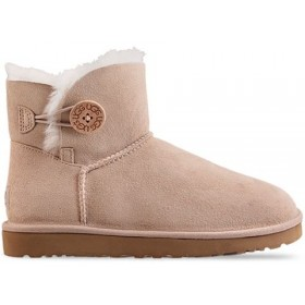 UGG Australia Bailey Button Mini Sand женские угги