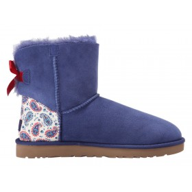 UGG Australia Bailey Bow Liberty Blue женские угги