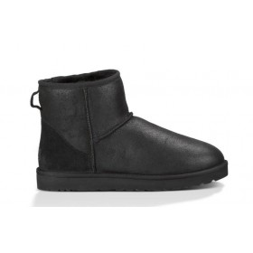 UGG Australia Bailey Button Mini Bomber Black женские угги